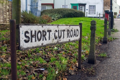 Short Cut Road (Photo by Nic McPhee - http://www.flickr.com/photos/nicmcphee/)